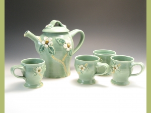 Dogwood Tea Set
