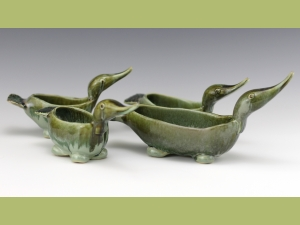 Duck Family Serving Bowls