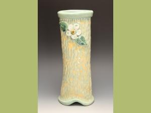 Hand formed vase