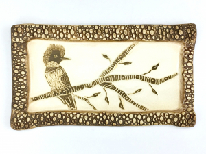 Kingfisher Wall Plaque