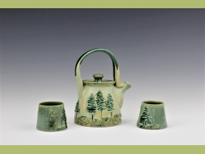 Little Trees Tea Set