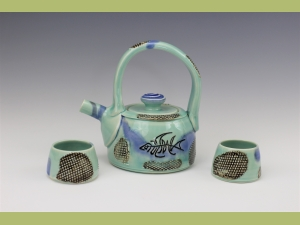 Fish Tea Pot