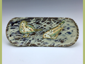 Two Little Birds Hanging Serving Tray